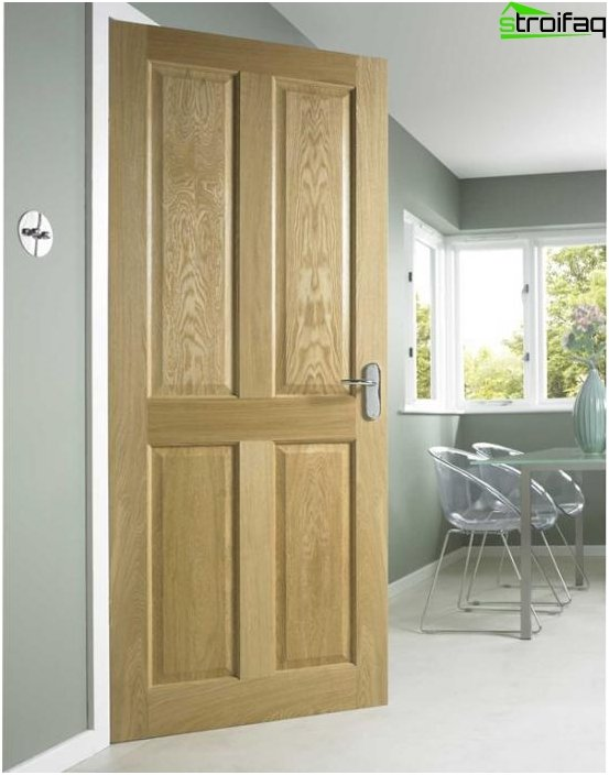 Puertas de fibra de madera - 01