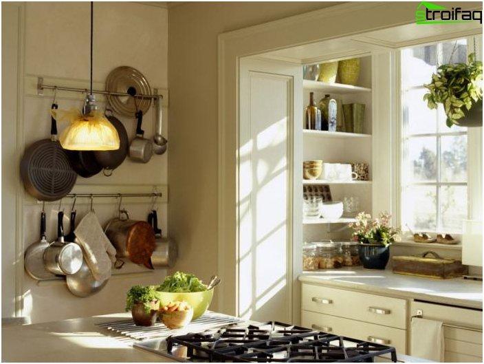 Foto di design di una piccola cucina