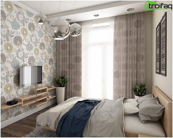 Design af lejligheden 2016 (soveværelse) - 4