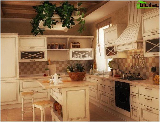 Skandinavisk stil køkken
