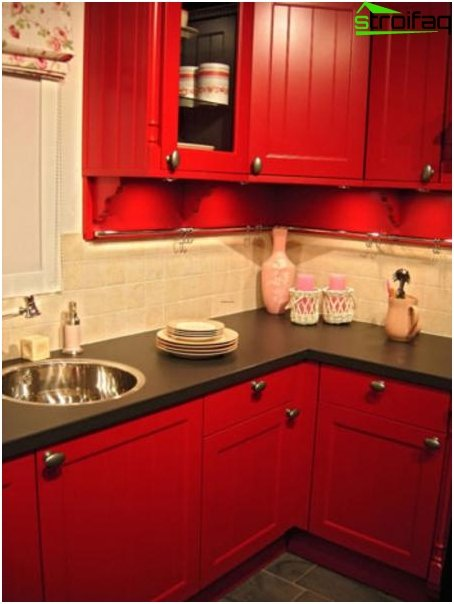 การออกแบบห้องครัวเล็ก ๆ 1