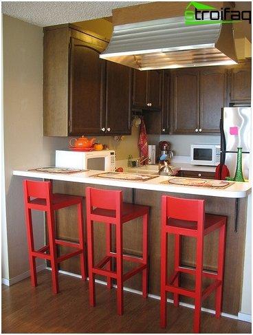 การออกแบบห้องครัวเล็ก ๆ 2