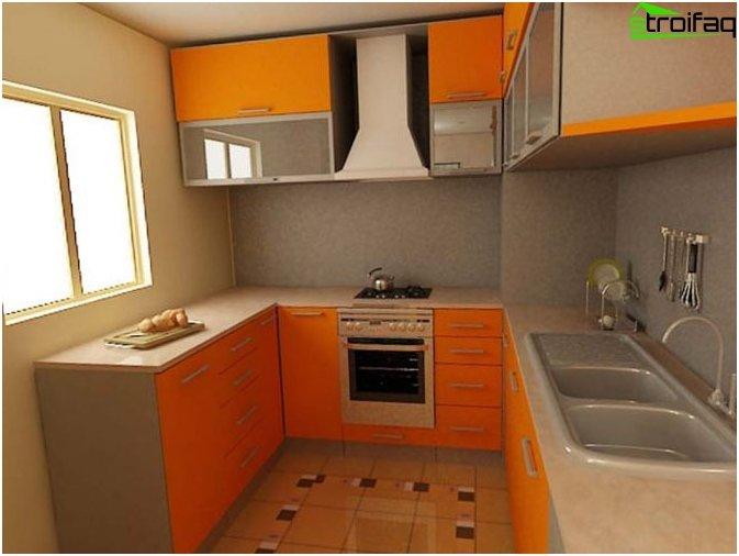 การออกแบบห้องครัวใน Khrushchev 1