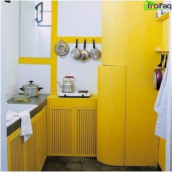 Køkken 6 kvm m