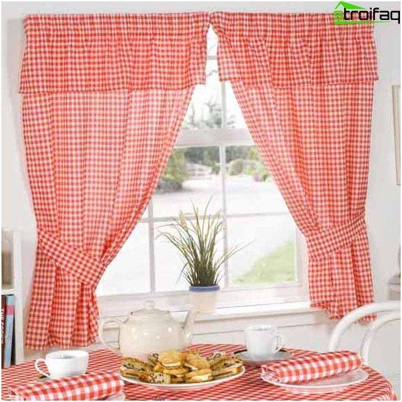 Design af gardiner til køkkenet 3