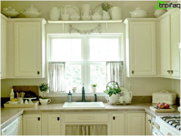 การออกแบบผ้าม่านสำหรับห้องครัว 5