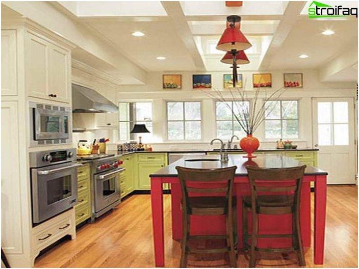 Design af køkkenloft