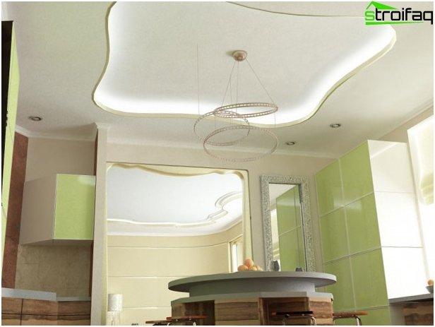 เพดานในห้องครัว 2