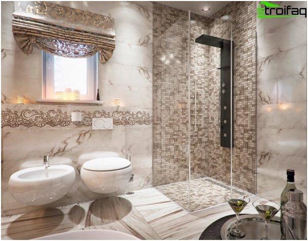 Design af lejligheden 2016 (badeværelse) - 1