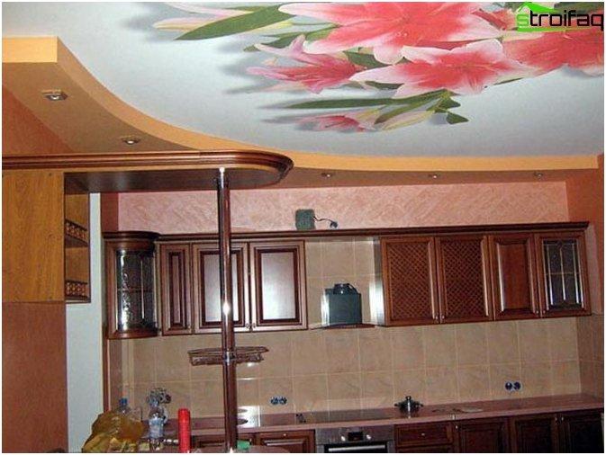 เพดานในห้องครัว 3