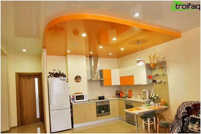 เพดานในห้องครัว 4