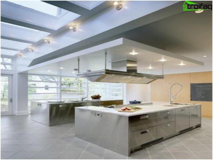 การออกแบบห้องครัวที่เหลือเชื่อ
