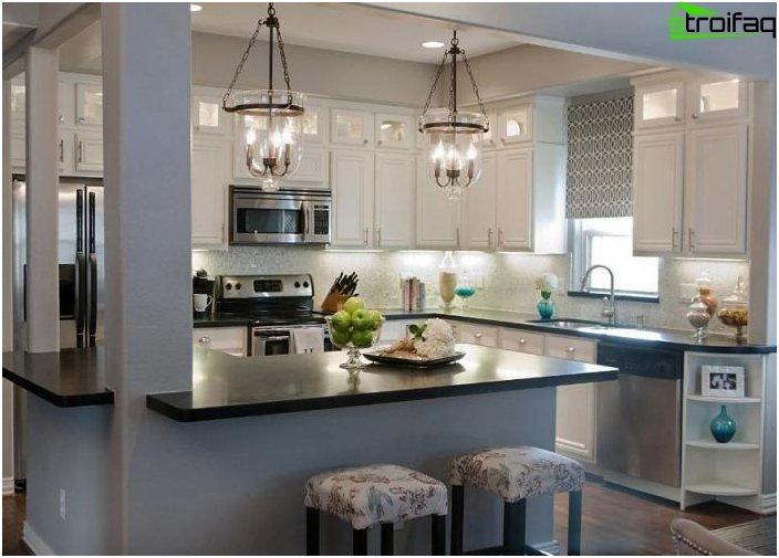 การออกแบบห้องครัวที่น่าทึ่ง - ภาพถ่าย 5