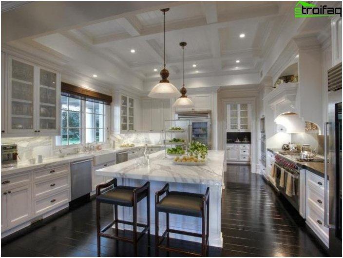 การออกแบบห้องครัวที่น่าทึ่ง - ภาพถ่าย 6