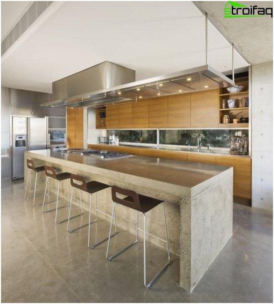 การออกแบบห้องครัวที่น่าทึ่ง - ภาพถ่าย 7