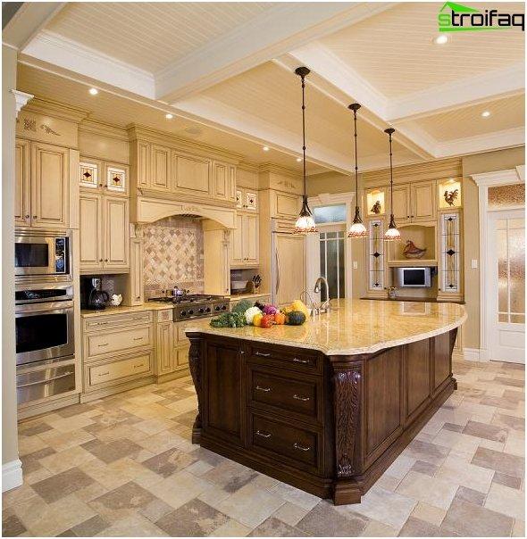 การออกแบบห้องครัวที่น่าทึ่ง - ภาพถ่าย 8