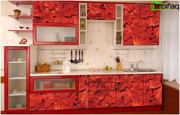 Komplet køkken (facader) - 1