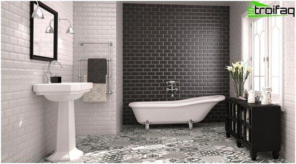 Design af lejligheden 2016 (badeværelse) - 2