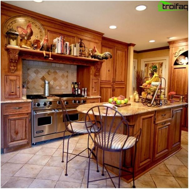 Cucina in stile country 1