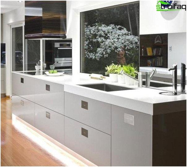 Moderni tyyli keittiö