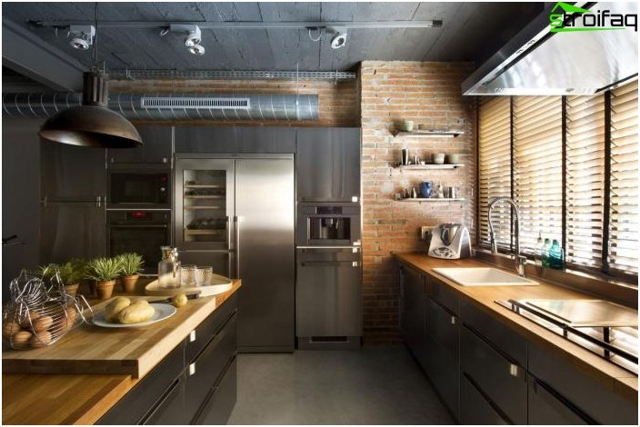 Moderni tyyli keittiö 2