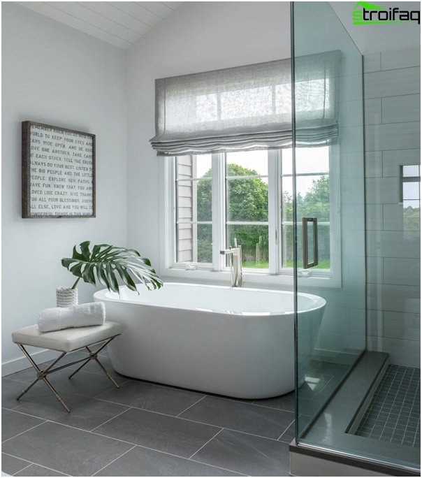 Design af lejligheden 2016 (badeværelse) - 3