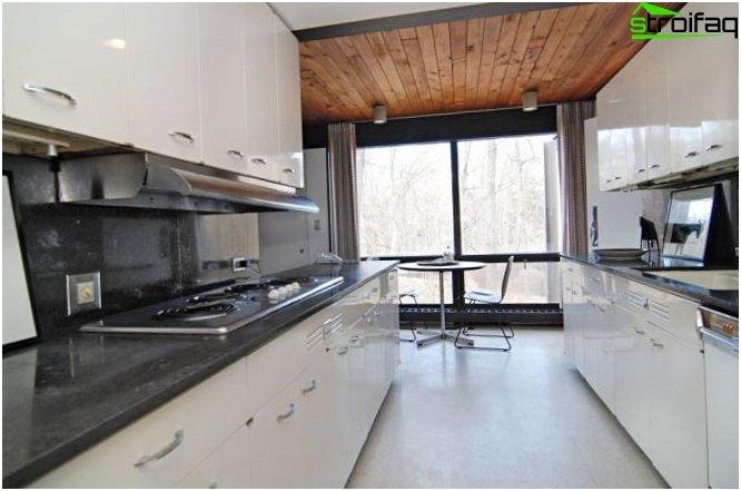 Diseño de cocina 9 m2 15