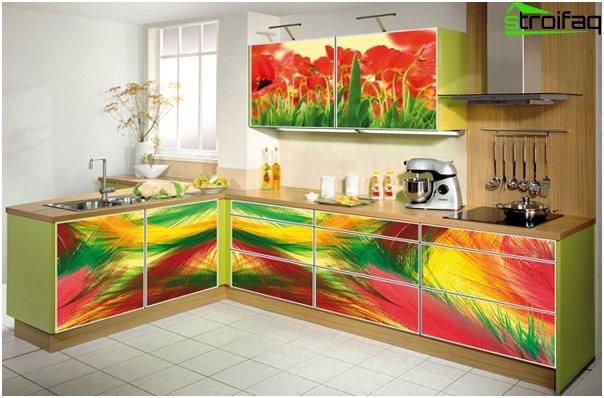 Komplet køkken (facader) - 3