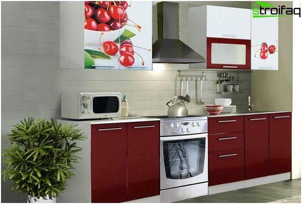 Complete kitchen (facades) - 4