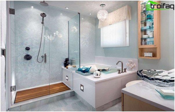 Design af lejligheden 2016 (badeværelse) - 4