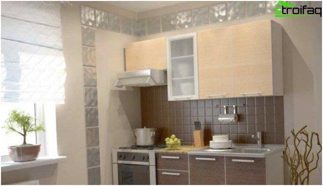 Progettazione di cucine a Krusciov 1
