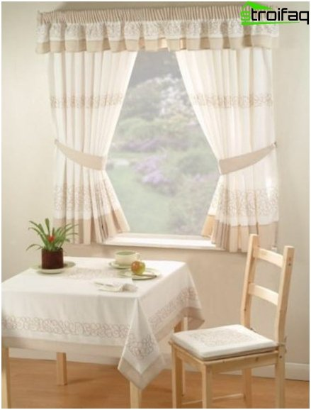 Curtains for the kitchen