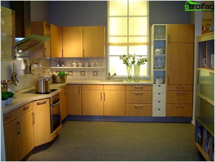 Huonekalut pieneen keittiöön
