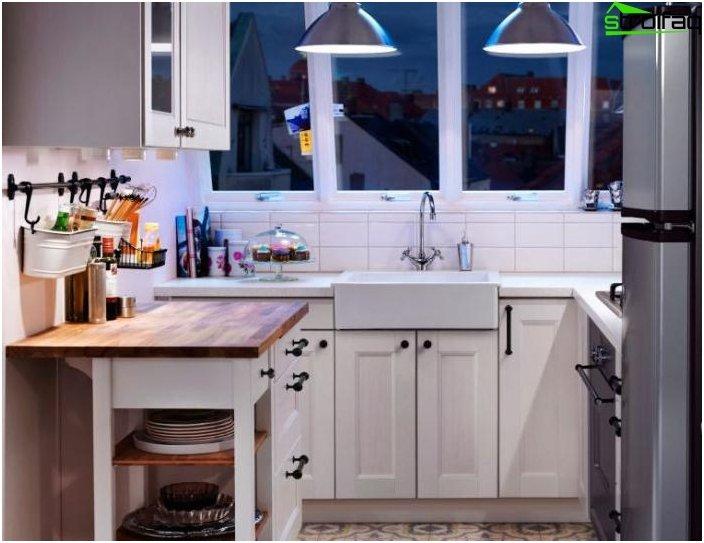 Cucina design 10 metri quadrati