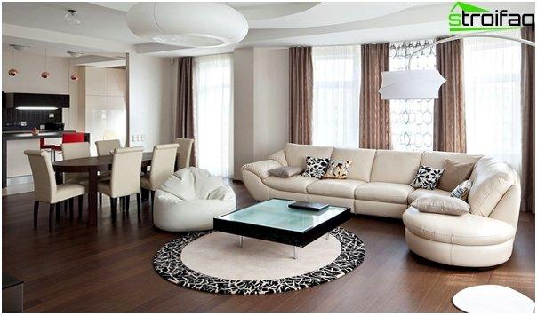 Gestaltung der Wohnung 2016 (Einzimmer) - 1