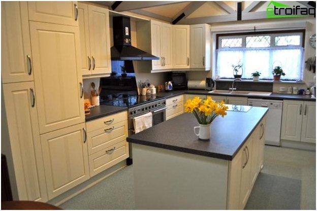 Дизайн на кухня и хол - 6