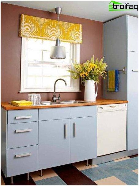 Tende di design per la cucina 2