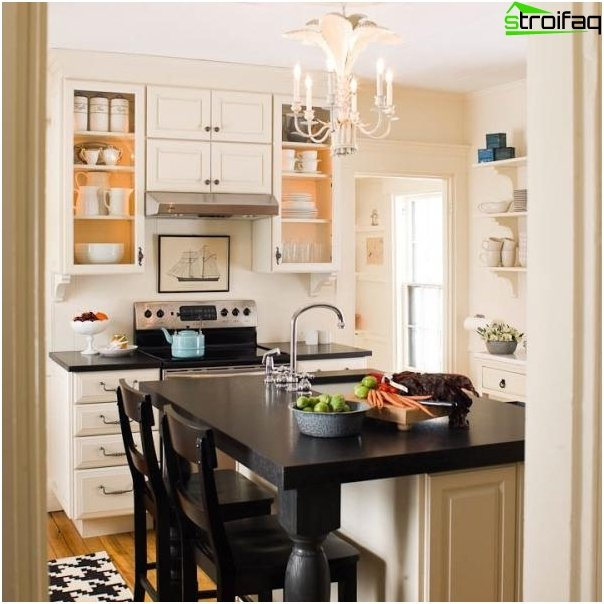 Kitchen design 10 square meters