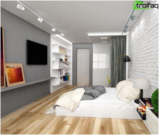 Lejlighed design 2016 (et-værelse) - 2