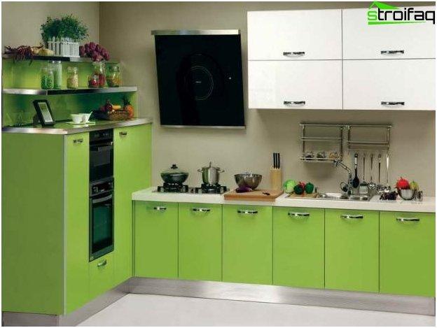 Diseño de cocina-sala de estar - 16