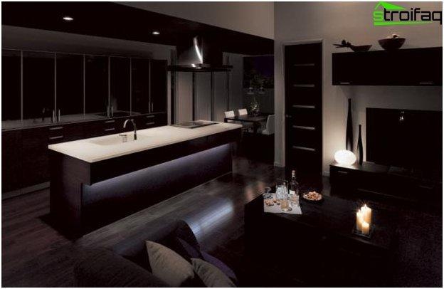 Дизайн на кухня и хол - 18