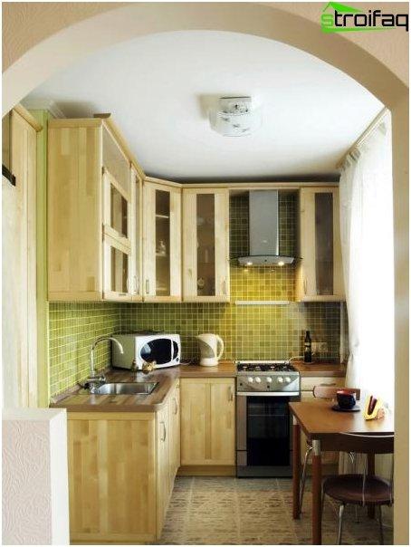 Pieni keittiö 1