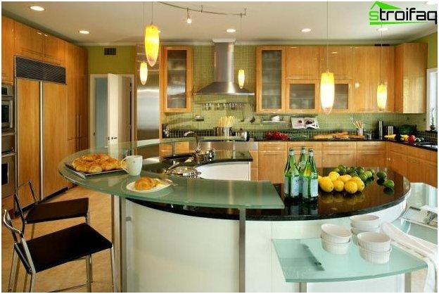 Cocina-sala de diseño - 24