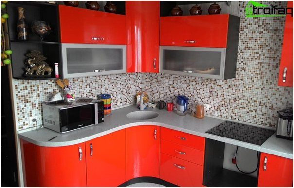 Komplet køkken (bordplade) - 2