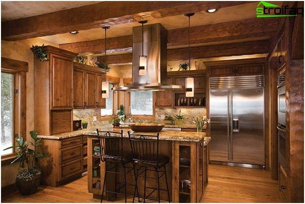 Дизайн на кухня-хол - 25