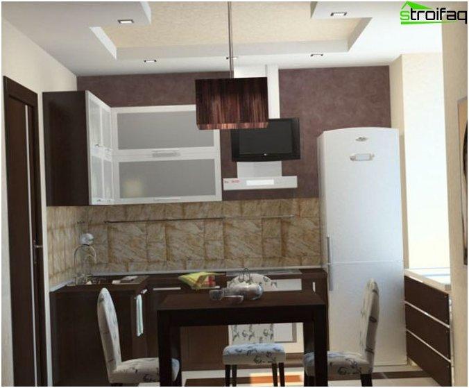 Kitchen Design Small Size 1