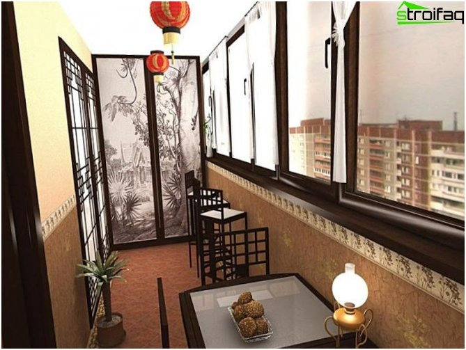 Balcony Interior - 14