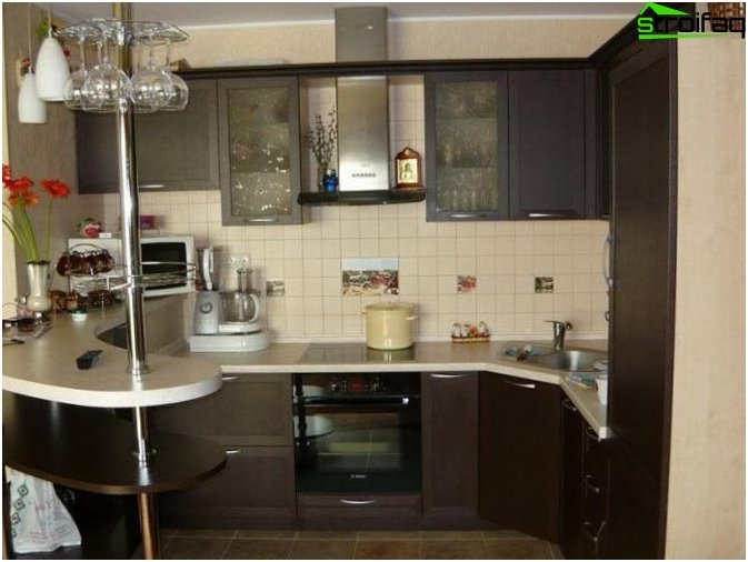 Cucina design di piccole dimensioni 2