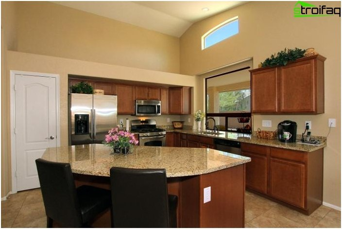 Дизайн на кухня и хол - снимка 2