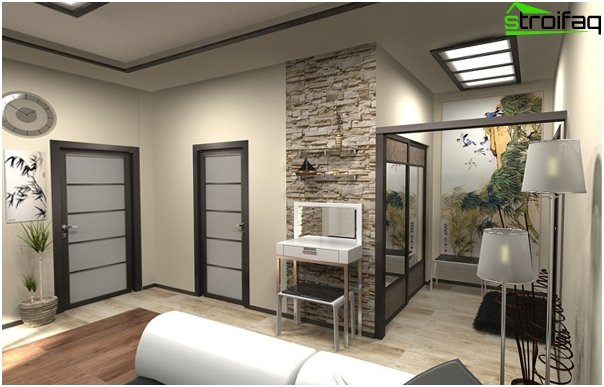 Gestaltung der Wohnung 2016 (Einzimmer) - 3